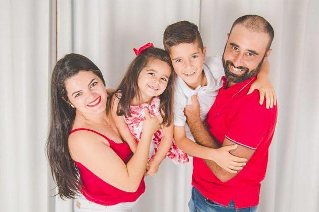 Alex e Katia Viana com os melhores presentes de Natal possíveis no mundo!